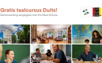 Nieuwe samenwerking, gratis taalcursus!