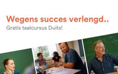 Gratis taalcursus wegens succes verlengd!