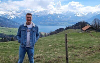 Pim de Grauw, Fysiotherapeut in Zwitserland